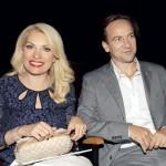 Ελένη Μενεγάκη-Μάκης Παντζόπουλος στην πρώτη τους επέτειο