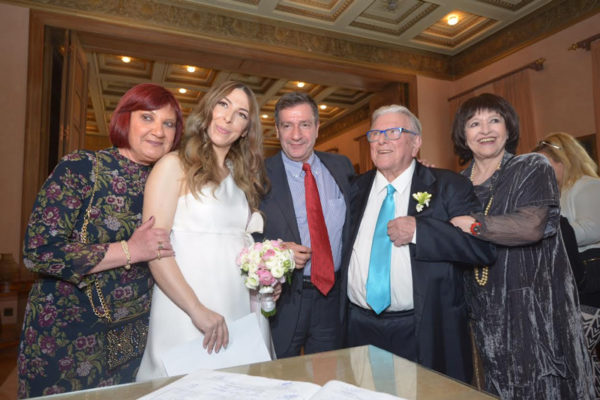 Παντρεύτηκε για 4η φορά ο Κώστας Βουτσάς