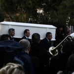 Με το τραγούδι «Eίχα κάποτε μια αγάπη» έφτασε η σορός του Παντελίδη στην εκκλησία