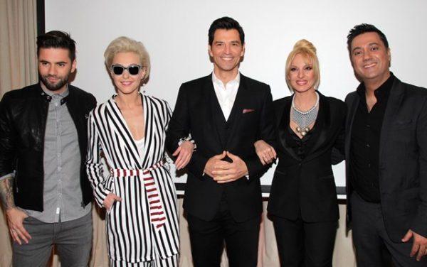 Η συνέντευξη τύπου για το X-Factor, η επίσκεψη που προκάλεσε αναστάτωση και η απάντηση που καταχειροκροτήθηκε