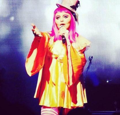 Η Madonna Ντυμένη κλόουν κατέρρευσε στη συναυλία της στη Μελβούρνη
