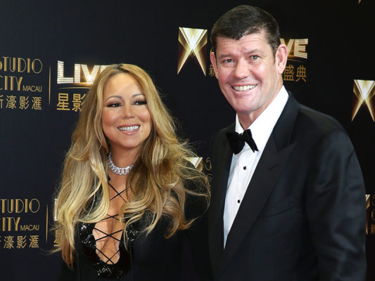 Ο γάμος της Mariah Carey και του James Packer