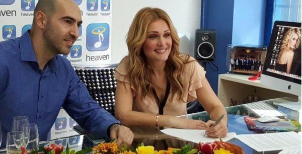 Τη συνεργασία της με τη Heaven Music επισημοποίησε η Νατάσα Θεοδωρίδου