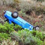 Νεκρή 50χρονη όταν το αυτοκίνητό της έπεσε σε γκρεμό