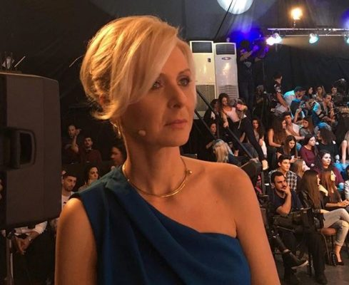 Το ντεμπούτο της ως παρουσιάστρια έκανε η Κατερίνα Γκαγκάκη