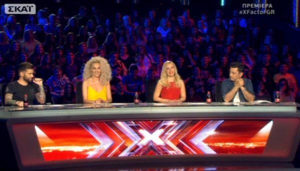 Τα νούμερα τηλεθέασης που σημείωσε η πρεμιέρα του X-Factor