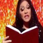 Ο Τάκη Ζαχαράτου ως Άντζελα Δημητρίου στην εκπομπή «Bravo Ρούλα»