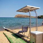 Συσκευή αυτόνομης πρόσβασης ατόμων με κινητικά προβλήματα στη θάλασσα