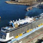 Ενα από τα μεγαλύτερα κρουαζιερόπλοια του κόσμου βρίσκετε στον Πειραιά