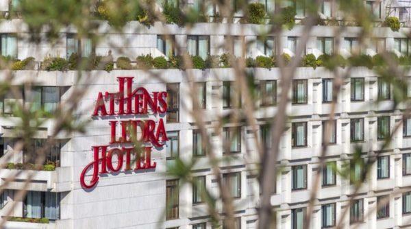 Λουκέτο στο ξενοδοχείο Athens Ledra