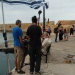 Στο Ενετικό Λιμάνι το συνεργείο του Θοδωρή Παπαδουλάκη για τα γυρίσματα της νέας του τηλεοπτικής σειράς