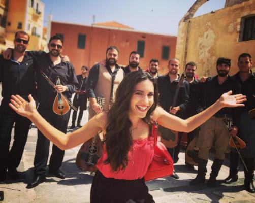 Οι ηθοποιοί του Μπρούσκο απολαμβάνουν τα γυρίσματα στα Χανιά