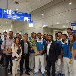 Παράδοση κότινου στην Ελληνική Ολυμπιακή αποστολή