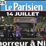 Θρήνος στα πρωτοσέλιδα του διεθνούς Τύπου για το μακελειό στη Γαλλία