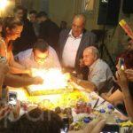 Τα γενέθλιά του γιόρτασε στα Χανιά ο εκδότης Γιάννης Κουρτάκης