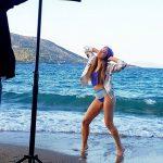 Η Αποστολια Ζώη κάνει τις καλοκαιρινές της διακοπές στην Πελοπόννησο