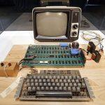 Σε δημοπρασία ο πρώτος υπολογιστής της Apple