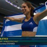 Χρυσό μετάλλιο για την Κατερίνα Στεφανίδη στους Ολυμπιακοί Αγώνες του Ριο 2016