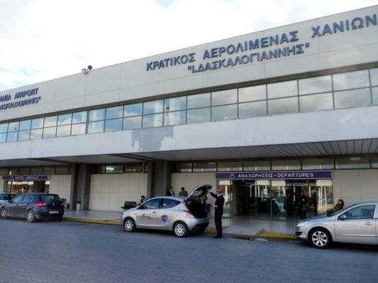 Βυθίστηκε στο σκοτάδι το Αεροδρόμιο Χανίων