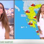 Το νέο τραγούδι του καιρού της Ελένης Τσολάκη στο Happy Day
