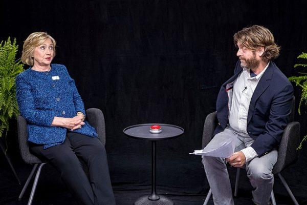 H ερώτηση του Γαλυφιανάκη που τρέλανε τη Χίλαρι Κλίντον