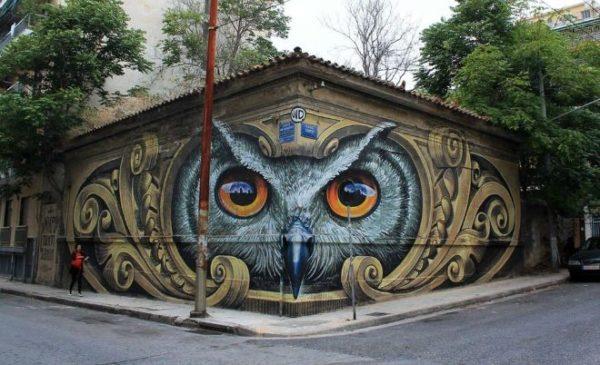 Το γκράφιτι στην πόλη της Αθήνας που έγινε παγκόσμιος viral
