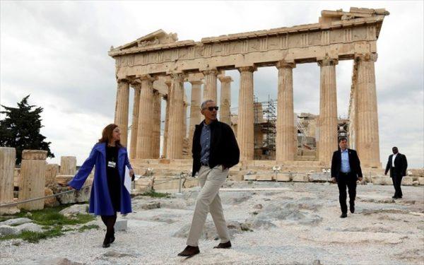 Το βίντεο του Barack Obama μέσα από την Ακρόπολη