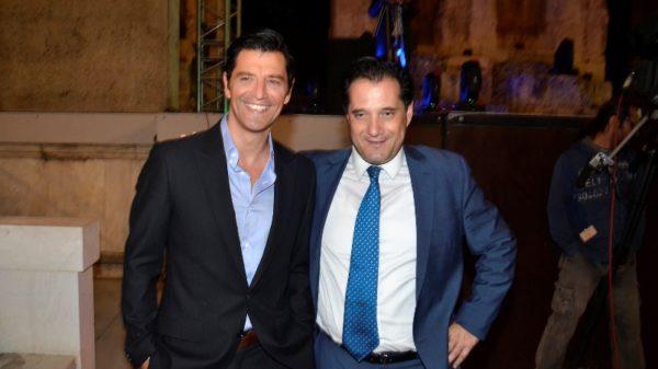 Σάκης Ρουβάς και Άδωνις Γεωργιάδης είχαν την ίδια επιθυμία μετά το PeopleXmasParty