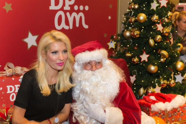 Η DPAM υποδέχτηκε τα Χριστούγεννα μαζί με την Ελένη Μενεγάκη