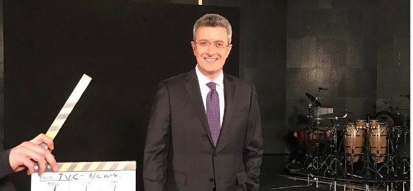 Ο Νίκου Χατζηνικολάου στο κεντρικό δελτίο ειδήσεων του ΑΝΤ1