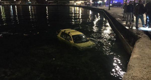 Παρ' ολίγον τραγωδία στο παλιό λιμάνι Χανίων – Αυτοκίνητο έπεσε στην θάλασσα