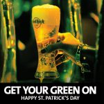 TO HARD ROCK CAFE ATHENS ΓΙΟΡΤΑΖΕΙ ΤΗΝ ST. PATRICK'S DAY!