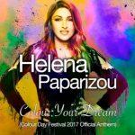 Η Έλενα Παπαρίζου τραγουδάει το Official Anthem του Colour Day Festival 2017