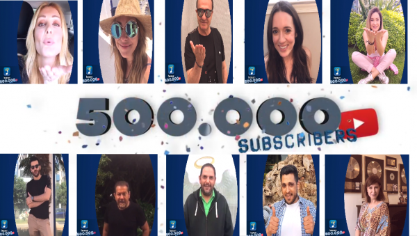 Heaven Music: 500.000 Subscribers