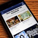 Online παραγγελία φαγητού τώρα και μέσω του Facebook