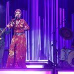 Μάγεψε στη συναυλία της στο Θέατρο Βράχων η Ελεωνόρα Ζουγανέλη