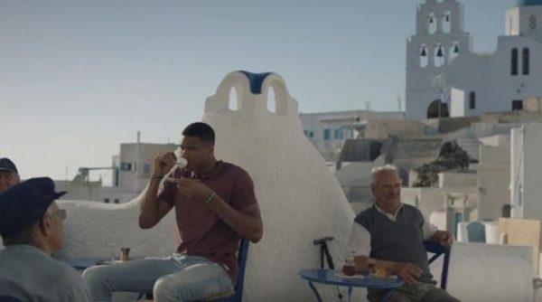 Η εκπληκτική διαφήμιση της Aegean με τον Αντετοκούνμπο για τις ομορφιές της Ελλάδας!