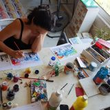 880 φωτογραφίες ζωγραφισμένες στο χέρι : BACKSTAGE VIDEOCLIP ….ΔΙΑΦΟΡΕΤΙΚΑ ΑΠΟ ΤΑ ΣΥΝΗΘΙΣΜΕΝΑ