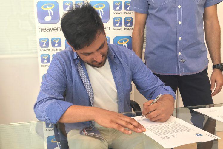 Ο Δημήτρης Αβραμόπουλος υπέγραψε με την Heaven