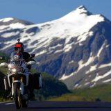 Ο Γ. Πυρπασόπουλος ταξίδεψε με μοτοσικλέτα 3.570 χιλιόμετρα από το Όσλο στο βόρειο Ακρωτήρι