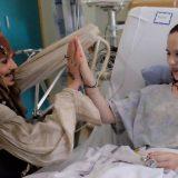 Ο Johnny Depp έγινε ξανά Jack Sparrow και έκανε έκπληξη σε άρρωστα παιδιά