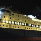 Πλοίο προσάραξε στην είσοδο του λιμανιού της Ίου