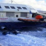 Το Seajet 2 προσέκρουσε στον προβλήτα της Σίφνου