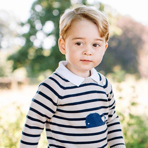 Ο Πρίγκιπας George πήγε για πρώτη φορά στο γήπεδο και έκλεψε τις εντυπώσεις