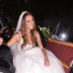 Δείτε την εντυπωσιακή μπομπονιέρα από τον γάμο της Ελένης Τσολάκη