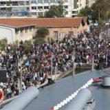 «Βούλιαξε» το Θωρηκτό Αβέρωφ από την αγάπη του κόσμου στην Θεσσαλονίκη