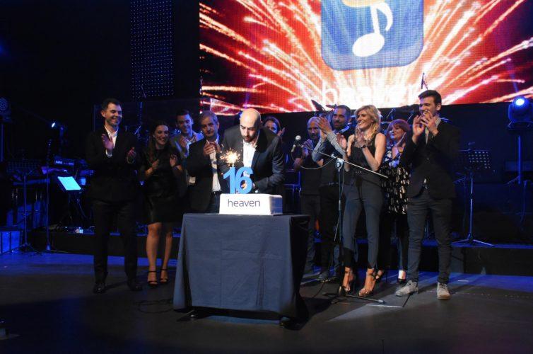 Η Heaven Music γιόρτασε 16 χρόνια επιτυχιών!
