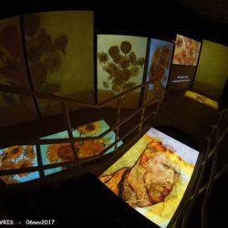 Γνωστές προσωπικότητες στα εγκαίνια της έκθεσης Van Gogh Alive the Experience