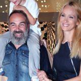 Τρυφερές στιγμές για τον Γρηγόρη Γκουντάρα και την Ναταλί Κακκαβά