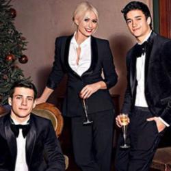 Δείτε την εντυπωσιακή φωτογράφηση της Μαρίας Μπακοδήμου με τους γιους